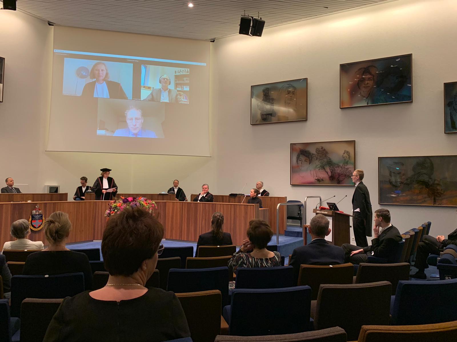 Verdediging proefschrift Wim van Boxtel